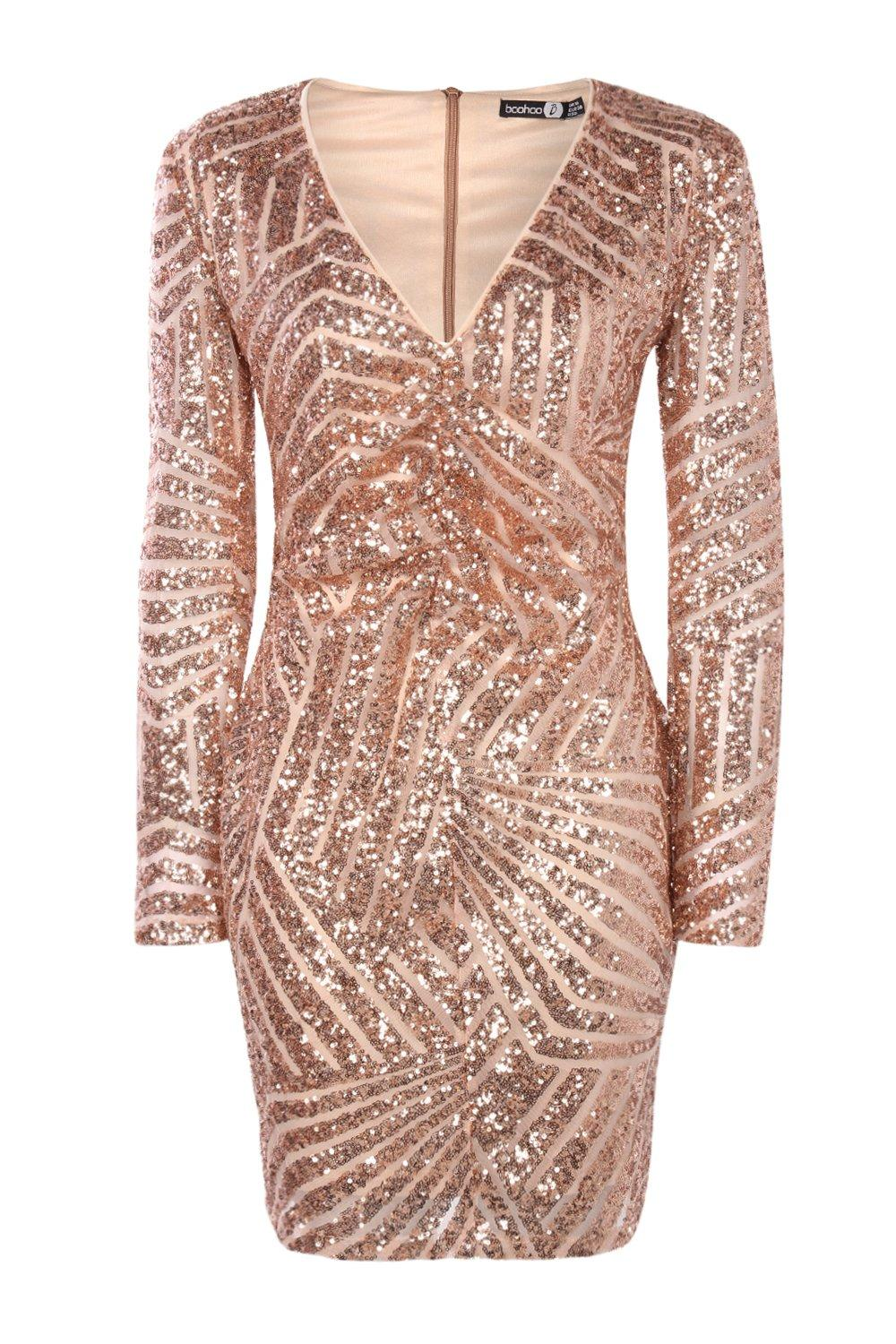 nude-boutique--sequin-panelled-bodycon-dress